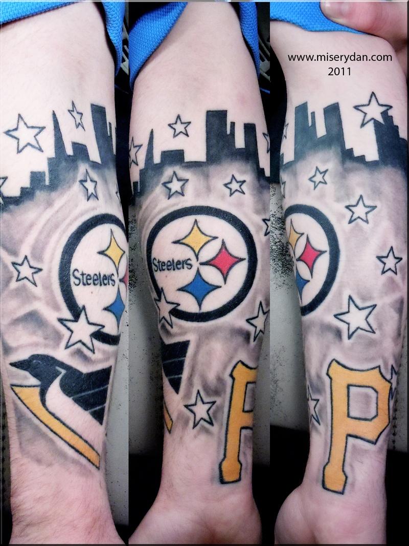 Tattoo savior portfolio by dan bires for Pittsburgh tattoo ideas